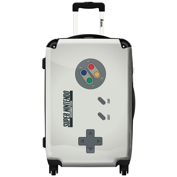 iKase 'Super Nintendo' ,Carry-on 20-inch,Hardside, Spinner Suitcase