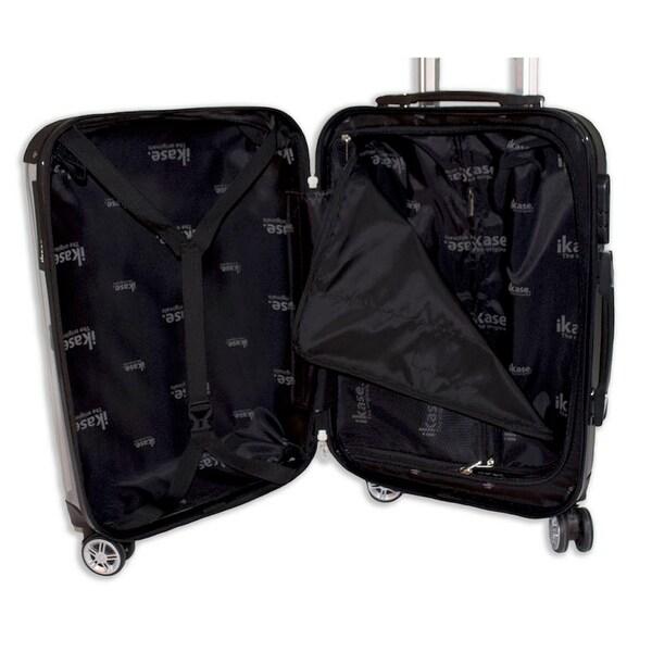 Ikase Hardside Spinner Luggage Turtle Love