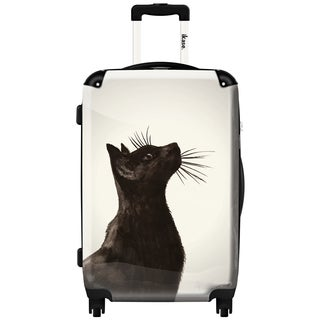 iKase 'Black Cat' ,Carry-on 20-inch,Hardside, Spinner Suitcase