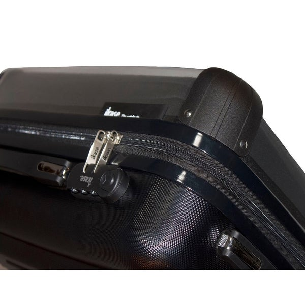 Ikase Hardside Spinner Luggage Black Cat