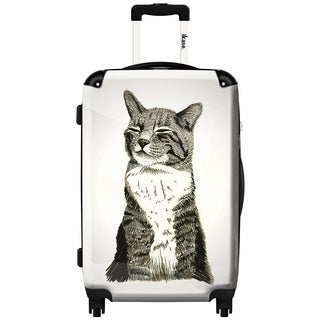 iKase 'Cat' ,Carry-on 20-inch,Hardside, Spinner Suitcase