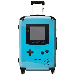 iKase 'Game Boy Sky Blue' ,Carry-on 20-inch,Hardside, Spinner Suitcase