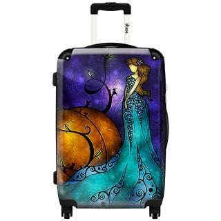 iKase 'Cinderella' 20-inch Fashion Hardside Carry-on Spinner Suitcase
