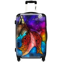 iKase 'The Little Mermaid'  ,Carry-on 20-inch,Hardside, Spinner Suitcase