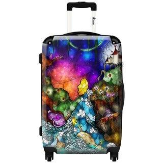 iKase 'Wonderland' 20-inch Fashion Hardside Carry-on Spinner Suitcase