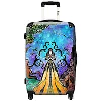 iKase 'One Little Bite'  ,Carry-on 20-inch,Hardside, Spinner Suitcase