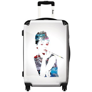 iKase 'Audrey Hepburn' Carry-on 20 inch,Hardside Spinner Suitcase