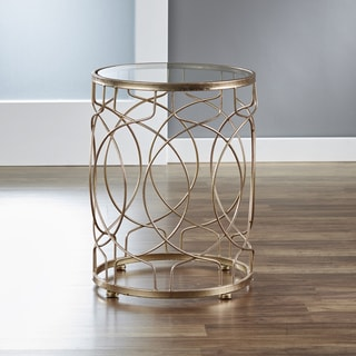 InnerSpace Gold Loop Side Table