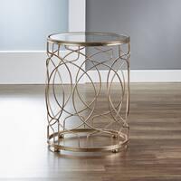 InnerSpace Gold Loop Side Table