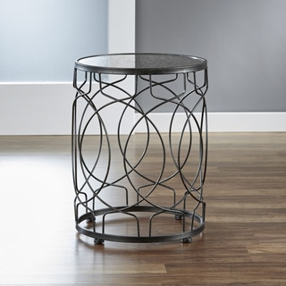 InnerSpace Oil-Rubbed Bronze Loop Side Table