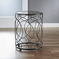 InnerSpace Oil-Rubbed Bronze Loop Side Table