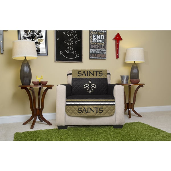 Exceptionnel Licensed NFL New Orleans Saints Chair Protector
