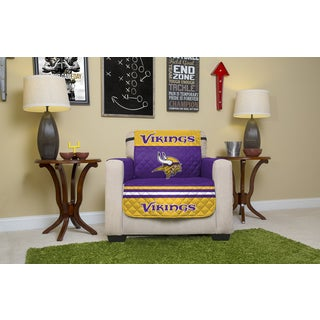 Official NFL-licensed Minnesota Vikings Chair Protector