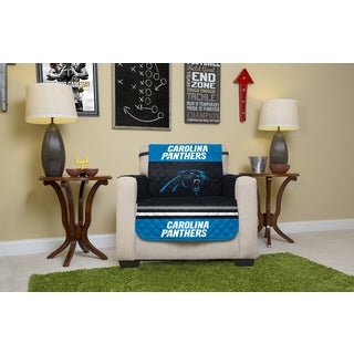 Carolina Panthers Licensed NFL Multicolor Microfiber Chair Protector