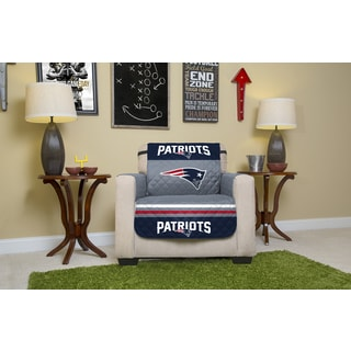 Official NFL-licensed New England Patriots Chair Protector