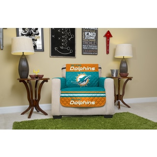 Miami Dolphins Licensed NFL Chair Protector