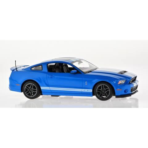 Rastar 1:14 Blue Plastic Ford Shelby GT500
