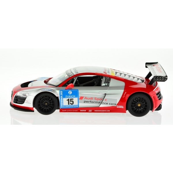 Rastar 1:14 Silver with Decals AUDI R8 Performance 2.4GHz RC Car