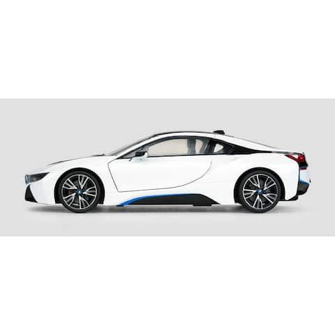 Rastar White 1:14 BMW i8 USB-charge 2.4GHz R/C Car