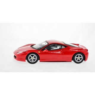 RastarRed Ferrari 458 Italia 2.4 GHz Remote Controlled Model Car