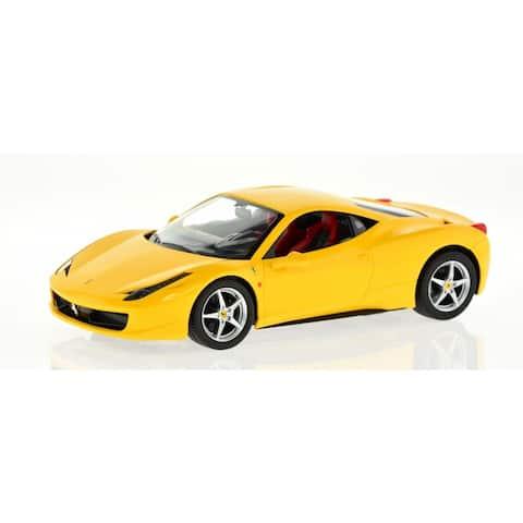 Rastar 1:14 Yellow Ferrari 458 Italia 2.4 GHz Remote Controlled Car