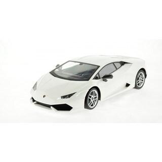 Rastar 1:14 White Lamborghini Huracan LP 610-4 USB Charger 2.4GHz