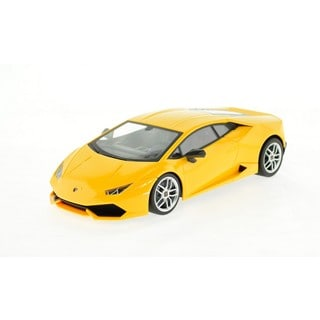 Rastar Yellow Lamborghini Huracan LP 610-4 1:14 Toy Car with 2.4GHz USB Charger