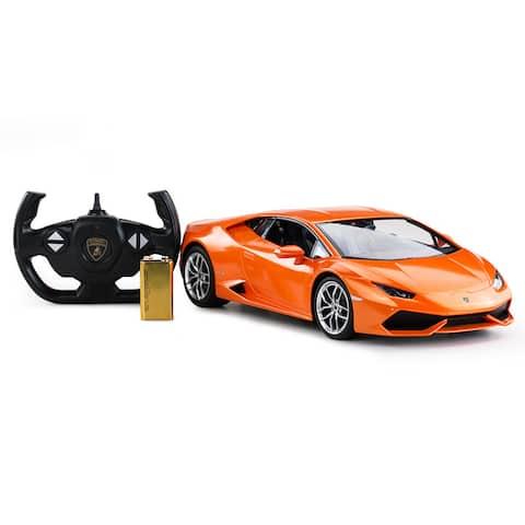 Rastar 1:14 Orange Remote Control Lamborghini Huracan LP 610-4
