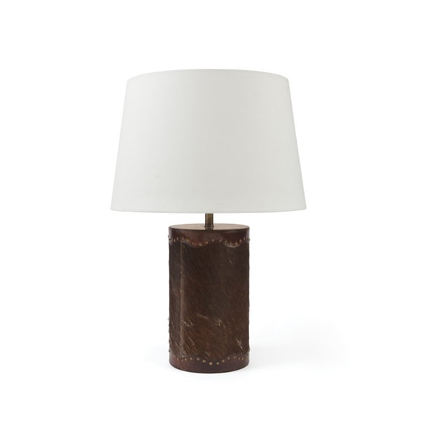 Hide Table Lamp