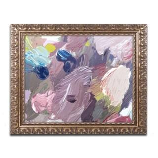 David Lloyd Glover 'Cloud Patterns' Ornate Framed Art