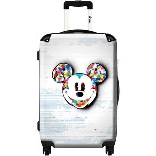 iKase 'Mickey By Morgan ,Carry-on 20-inch, Hardside, Spinner Suitcase