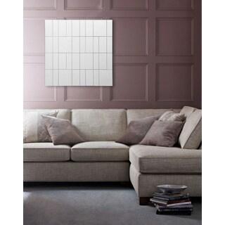 Fallon & Rose 'Linea' All Glass Square Wall Mirror