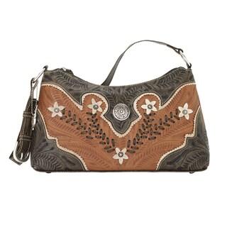 American West Wildflower Shoulder Bag