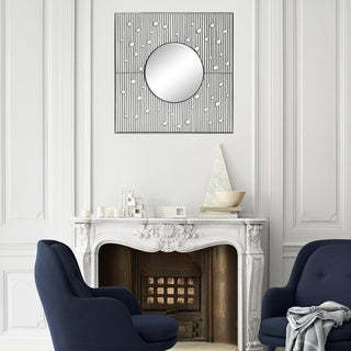 Fallon & Rose 'Bea' Framed Square Wall Mirror