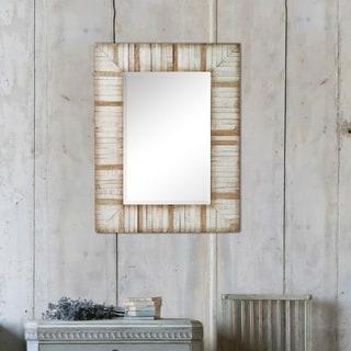 Fallon & Rose 'Ember' Framed Rectangular Wall Mirror