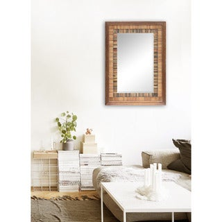 Colombus Framed Rectangular Wall Mirror