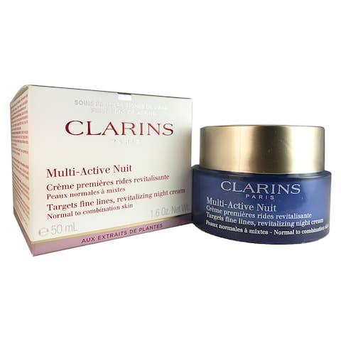 Clarins Multi-Active Night Cream Normal to Combination Skin 1.6 oz / 50 ml
