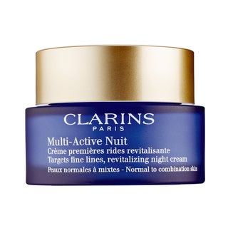 Clarins Multi-Active Nuit Revitalizing 1.6-ounce Night Cream Normal Combination Skin
