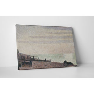 Classic Masters Georges Seurat 'Evening, Honfleur' Gallery Wrapped Canvas Wall Art