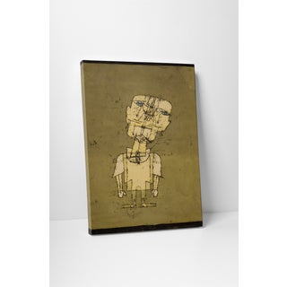 Classic Masters Paul Klee 'Ghost of a Genius' Gallery-wrapped Canvas Wall Art