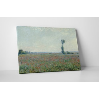 Classic Masters Claude Monet 'Poppy Field' Gallery-wrapped Canvas Wall Art