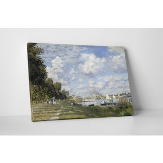 Classic Masters Claude Monet 'Bassin D'Argenteuil' Gallery Wrapped Canvas Wall Art
