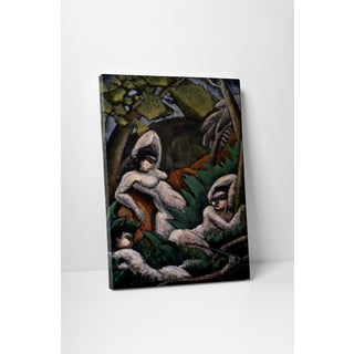 Classic Masters Max Weber 'Summer' Gallery-wrapped Canvas Wall Art