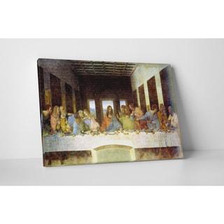Classic Masters Leonardo Da Vinci 'The Last Supper' Gallery-wrapped Canvas Wall Art