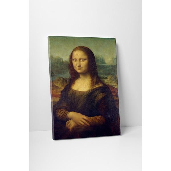Classic Masters Leonardo Da Vinci 'Mona Lisa' Gallery-wrapped Canvas Wall Art