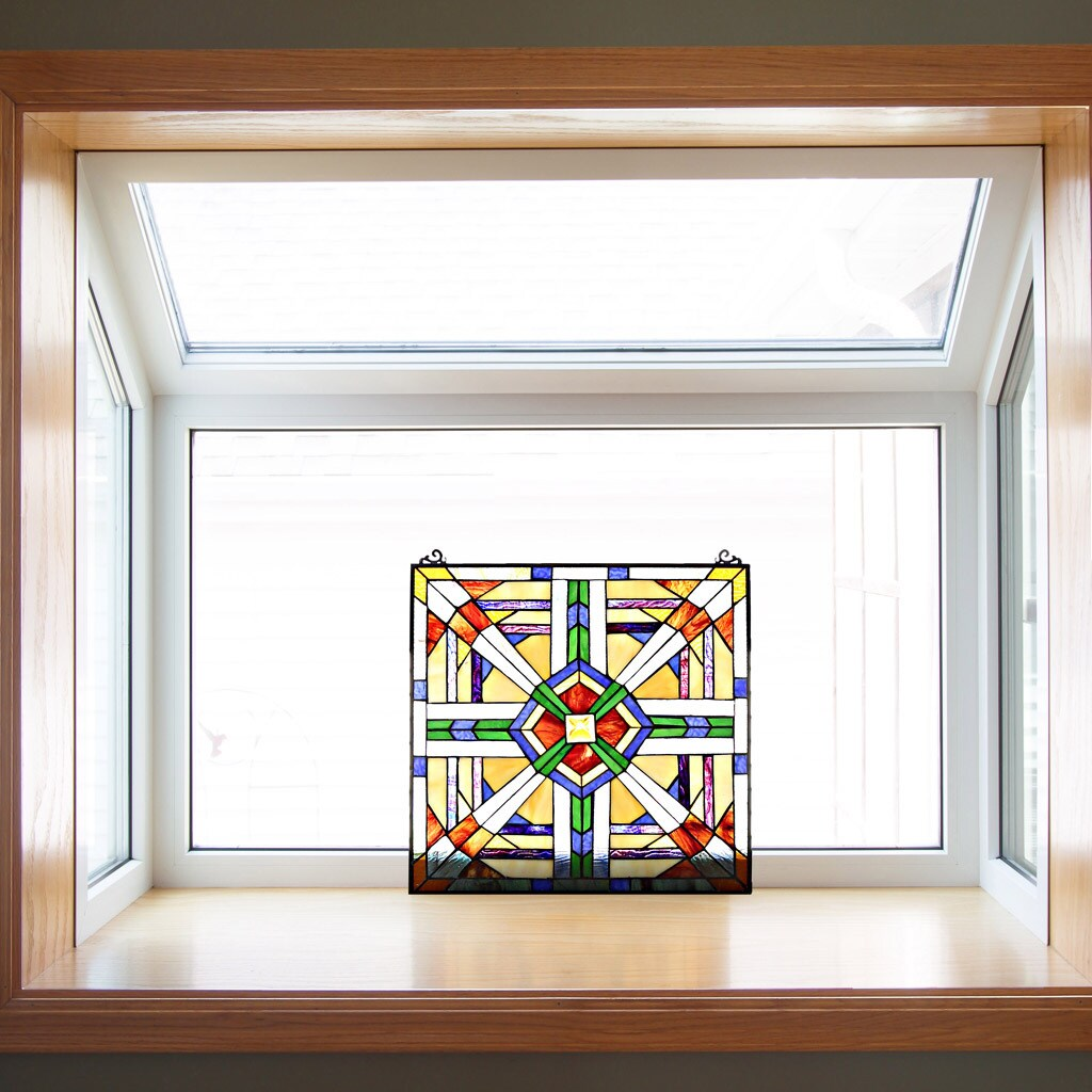 River Of Goods 18' MIssion Style Southwest Stained Glass ...