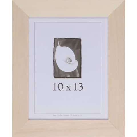 Unfinished Wood 13-inches High x 10-inches Wide Picture Frame