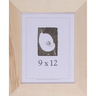 Unfinished Wood 9-inch x 12-inch DIY Picture Frame