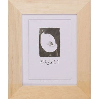 Unfinished Wood 8.5-inch x 11-inch DIY Picture Frame