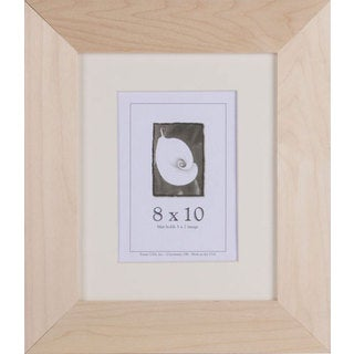 8-inch x 10-inch Unfinished Wood DIY Picture Frame